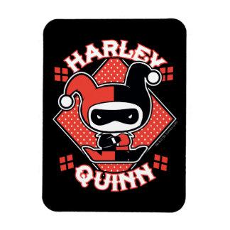 Chibi Harley Quinn Splits Magnet