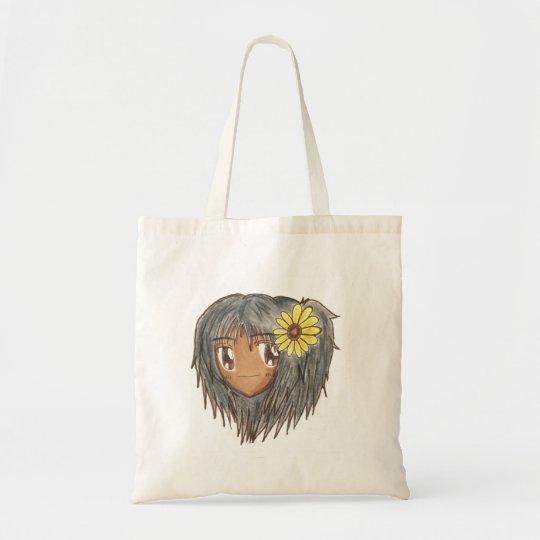 Chibi Head Hinata Canvas Bag