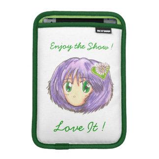 Chibi Head- Yuriko iPad Mini Sleeve