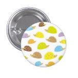 chibi hedgehog pinback button