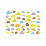 chibi hedgehog post card