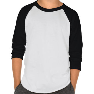 Chibi Heroes 3/4 Sleeve T-Shirt (Black)
