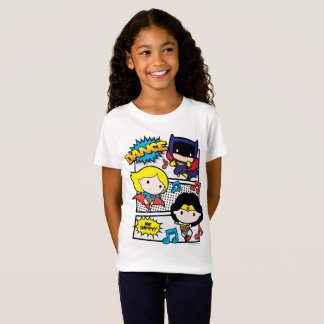 Chibi Heroes Dancing T-Shirt