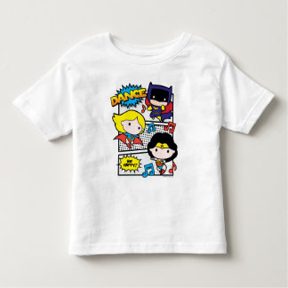 Chibi Heroes Dancing Toddler T-shirt