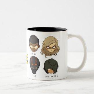 Chibi Heroes Mug