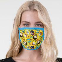 Chibi Heroine Dance Pattern Face Mask