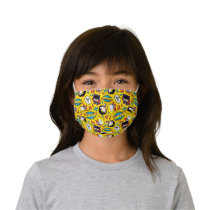 Chibi Heroine Dance Pattern Kids' Cloth Face Mask