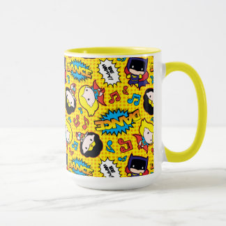 Chibi Heroine Dance Pattern Mug