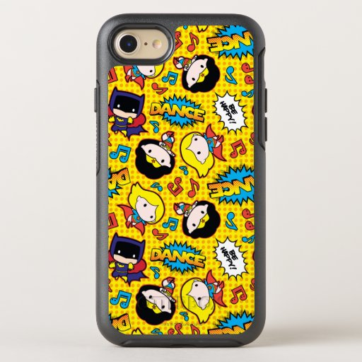 Chibi Heroine Dance Pattern OtterBox Symmetry iPhone SE/8/7 Case