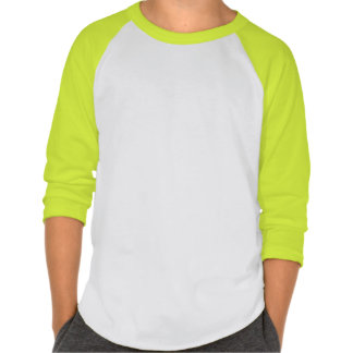 Chibi High Voltage 3/4 Sleeved Shirt (Lime Green)