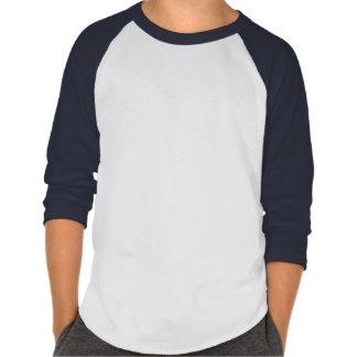 Chibi High Voltage 3/4 Sleeved Shirt (Navy Blue)