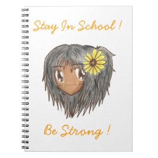"Chibi Hinata ""sea"" cuaderno fuerte"
