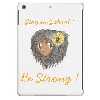"""Chibi Hinata """"sea"""" funda fuerte del aire del iPad Funda Para iPad Air"""