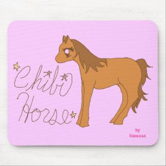 Chibi Horse Mouse Pad