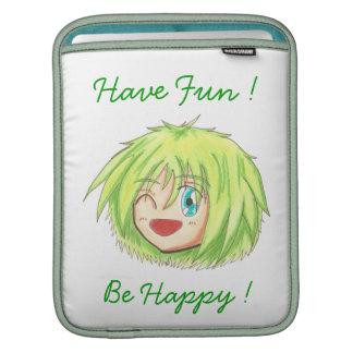 Chibi Izumi 'Be Happy' iPad Sleeve