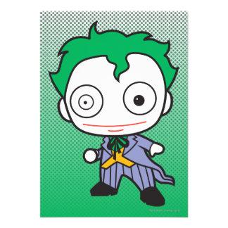 Chibi Joker Personalized Invitations