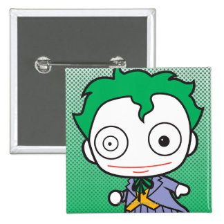 Chibi Joker Pinback Button