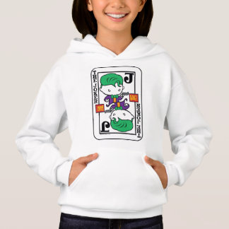 Chibi Joker Playing Card Hoodie
