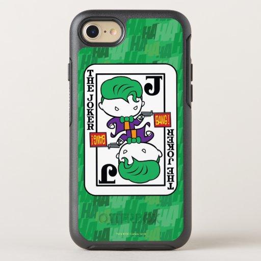 Chibi Joker Playing Card OtterBox Symmetry iPhone SE/8/7 Case
