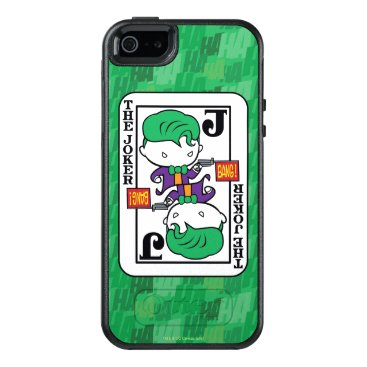 Chibi Joker Playing Card OtterBox iPhone 5/5s/SE Case