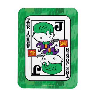 Chibi Joker Playing Card Rectangular Photo Magnet