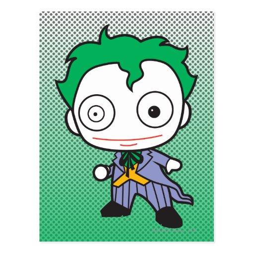 Chibi Joker Post Card