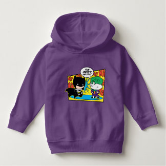 Chibi Joker Pranking Chibi Batman Hoodie