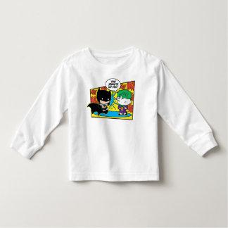 Chibi Joker Pranking Chibi Batman Toddler T-shirt