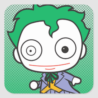 Chibi Joker Square Stickers