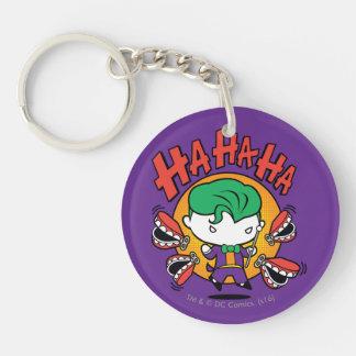Chibi Joker With Toy Teeth Keychain
