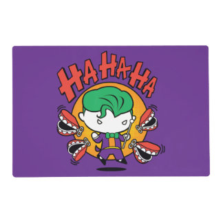 Chibi Joker With Toy Teeth Placemat