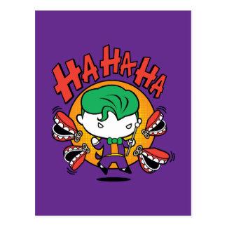 Chibi Joker With Toy Teeth Postcard