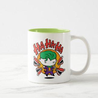 Chibi Joker With Toy Teeth Two-Tone Coffee Mug