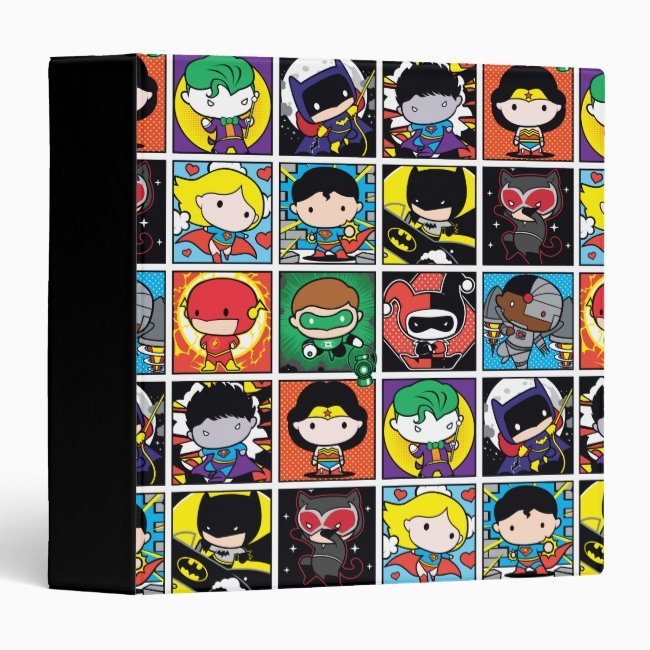 Chibi Justice League Character Pattern Binder