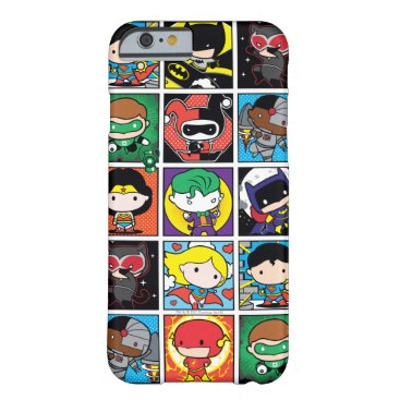 Chibi Justice League Character Pattern Barely There iPhone 6 Case