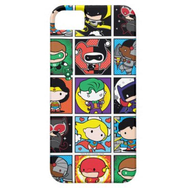 Chibi Justice League Character Pattern iPhone SE/5/5s Case