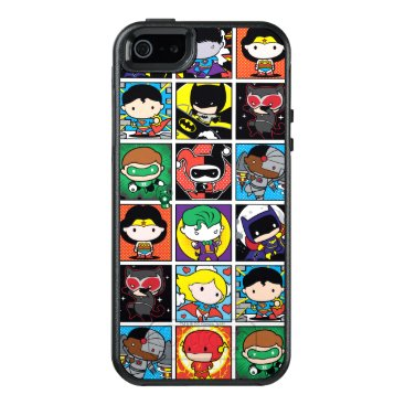 Chibi Justice League Character Pattern OtterBox iPhone 5/5s/SE Case