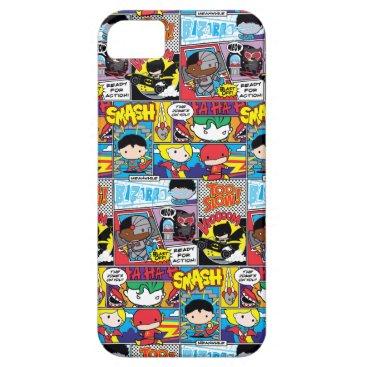 Chibi Justice League Comic Book Pattern iPhone SE/5/5s Case