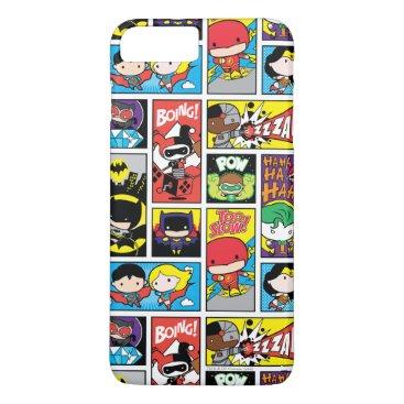 Chibi Justice League Compilation Pattern iPhone 8 Plus/7 Plus Case