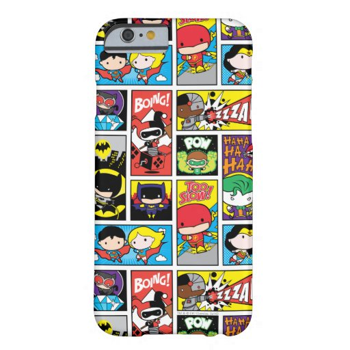 Chibi Justice League Compilation Pattern Barely There iPhone 6 Case