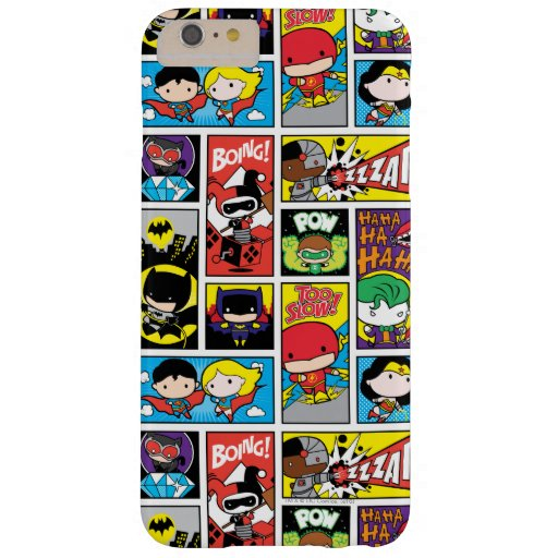 Chibi Justice League Compilation Pattern Barely There iPhone 6 Plus Case
