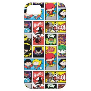Chibi Justice League Compilation Pattern iPhone SE/5/5s Case