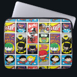 "Chibi Justice League Compilation Pattern Computer Sleeve<br><div class=""desc"">Check out the adorable Chibi Justice League characters in this cute panel pattern.</div>"