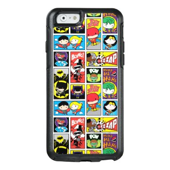Chibi Justice League Compilation Pattern Otterbox Iphone 6/6s Case by JusticeLeague at Zazzle