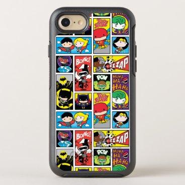 Chibi Justice League Compilation Pattern OtterBox Symmetry iPhone 8/7 Case