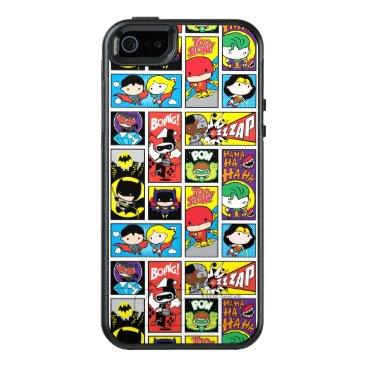 Chibi Justice League Compilation Pattern OtterBox iPhone 5/5s/SE Case
