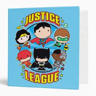 Chibi Justice League Group Binder
