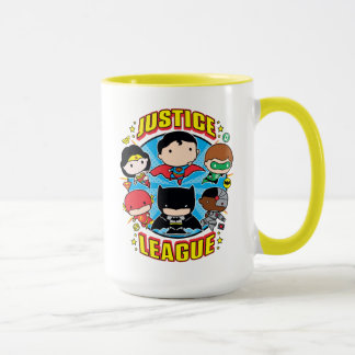 Chibi Justice League Group Mug