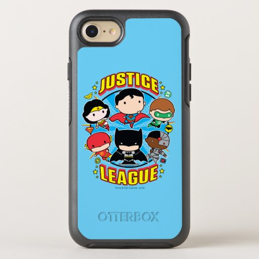 Chibi Justice League Group OtterBox Symmetry iPhone 8/7 Case