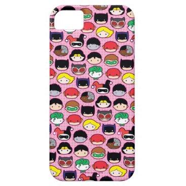 Chibi Justice League Head Pattern iPhone SE/5/5s Case